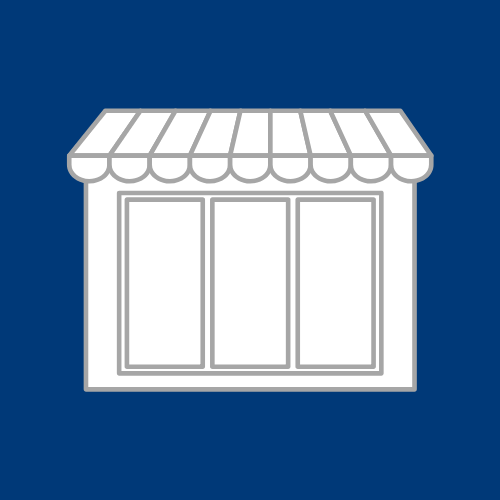 Icon for a showroom